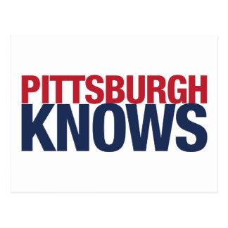 Carte Postale Pittsburgh sait