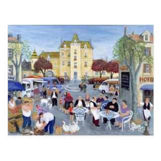 Carte Postale Place en Bourgogne