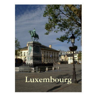 Carte Postale Placez Guillaume II, Luxembourg