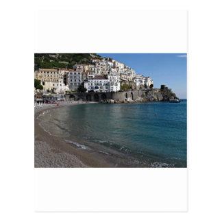 Carte Postale Plage d'Amalfi
