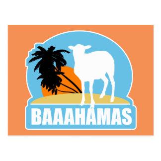 Carte Postale Plage de Baahamas