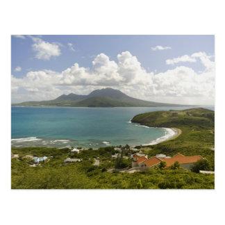 Carte Postale Plage de tortue, péninsule du sud-est, St Kitts,