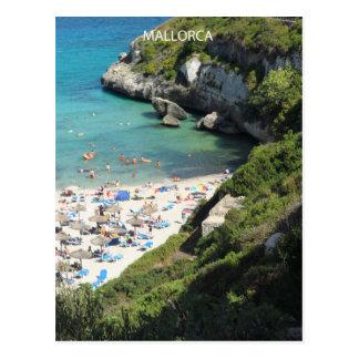 Carte Postale plage Majorque postale