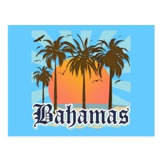 Carte Postale Plages d'îles des Bahamas