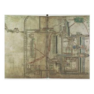 Carte Postale Plan f.285 de Mme R 171 de cathédrale et de Th de