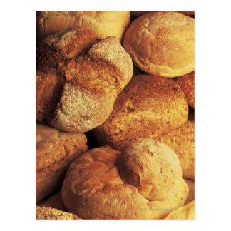 Carte Postale plan rapproché de pain cuit au four