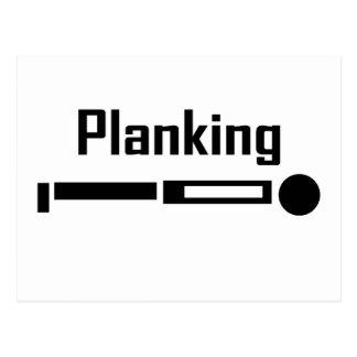 Carte Postale Planking