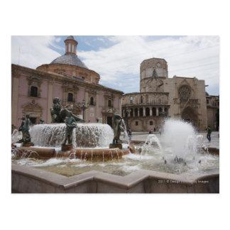 Carte Postale Plaza De La Virgin et Basilica De Virgen