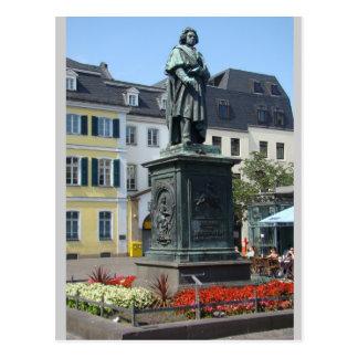 Carte Postale Pleine) statue Bonn Allemagne de Beethoven (