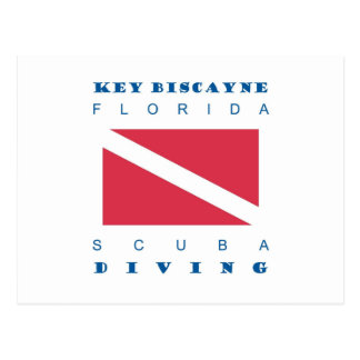 Carte Postale Plongée à l'air de Key Biscayne