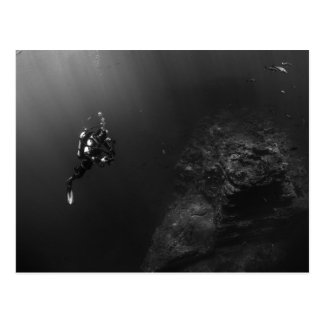 Carte Postale Plongée sous-marine