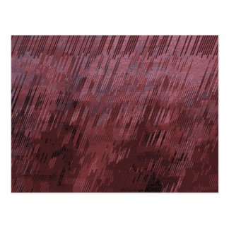 Carte Postale Pluie de Bourgogne