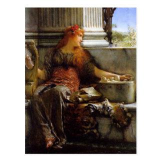 Carte Postale Poésie par monsieur Lawrence Alma-Tadema