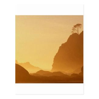 Carte Postale Point de coucher du soleil des voûtes olympiques