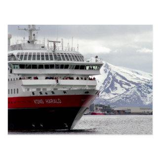 Carte postale polaire de Cruiseship