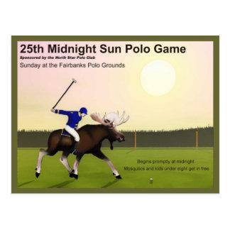 Carte Postale Polo de Sun de minuit