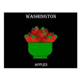 Carte Postale Pommes (Washington)