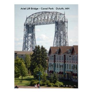 Carte Postale Pont d'ascenseur d'Ariel, pont d'ascenseur d'Ariel