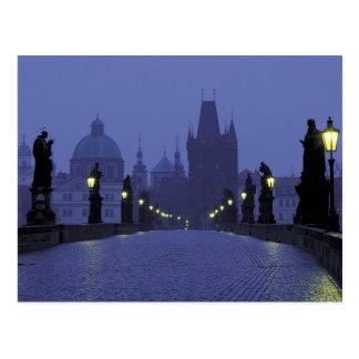Carte Postale Pont de Charles - Prague