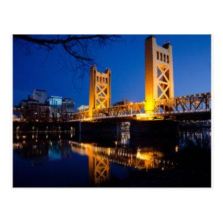 Carte Postale Pont de tour - Sacramento, CA
