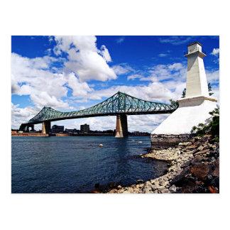 Carte Postale Pont Jacques Cartier