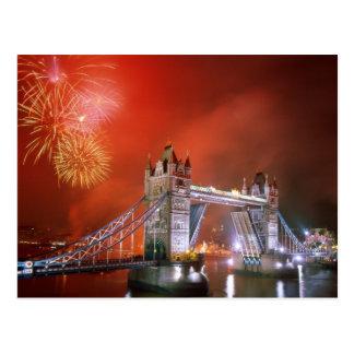 Carte Postale Pont Londres Angleterre de tour