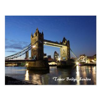 Carte Postale Pont Londres de tour