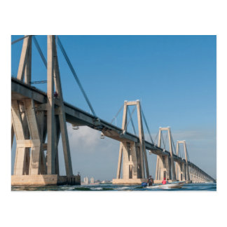 Carte Postale Pont Maracaïbo Venezuela du Général Rafaël