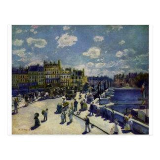 Carte Postale Pont Neuf par Pierre-Auguste Renoir