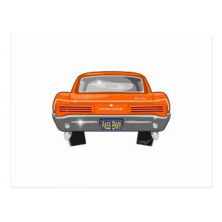 Carte Postale Pontiac 1966 GTO