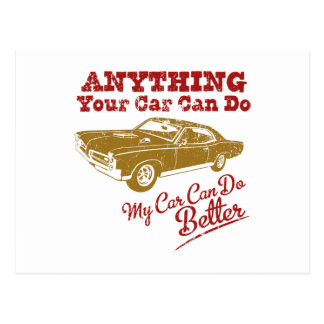 Carte Postale Pontiac 1967 GTO