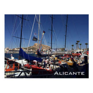 Carte Postale Port d'Alicante