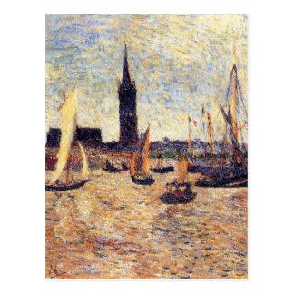 Carte Postale Port de Bordeaux par Paul Gauguin