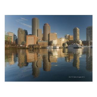 Carte Postale Port de Boston vu de pi POI