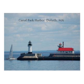 Carte Postale Port de Duluth, port Duluth, manganèse de parc de
