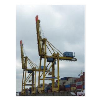 Carte Postale Port de Hambourg