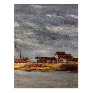 Carte Postale Port de Javel par Paul Gauguin