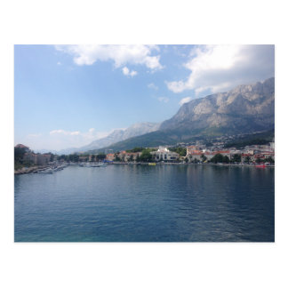 Carte Postale Port de Makarska