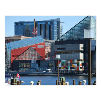 Carte Postale Port intérieur de Baltimore