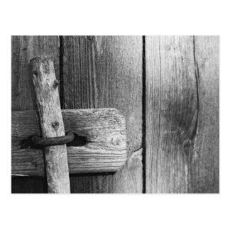 Carte Postale Porte de la vieille grange 4