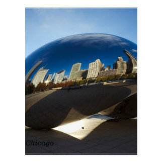 Carte Postale Porte de nuage de Chicago-Le