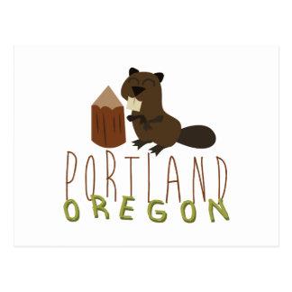 Carte Postale Portland Orégon