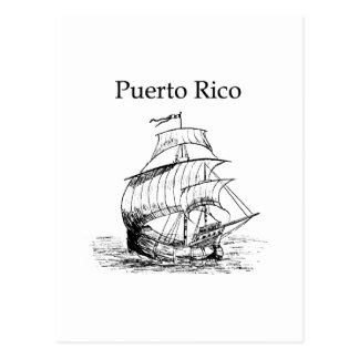 Carte Postale Porto Rico (bateau de navigation)
