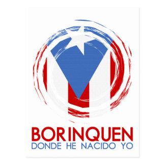 Carte Postale Porto Rico Borinquen