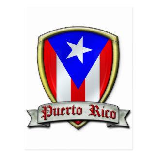 Carte Postale Porto Rico - Shield2