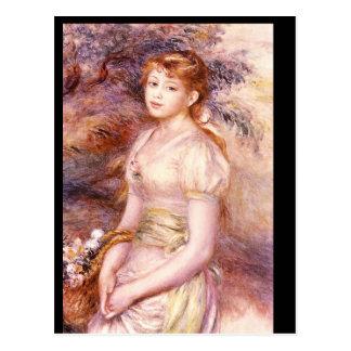 Carte Postale Portrait', Auguste_Impressionists