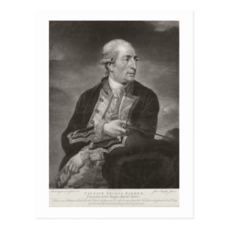 Carte Postale Portrait capitaines d'agriculteur de George de