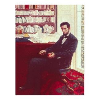 Carte Postale Portrait d'Abraham Lincoln