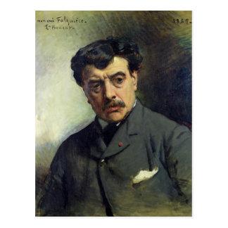 Carte Postale Portrait d'Alexandre Falguiere 1887