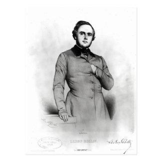 Carte Postale Portrait d'Alexandre Ledru-Rollin